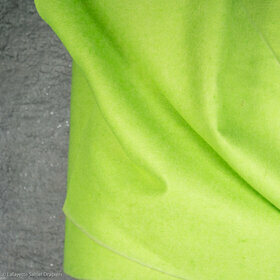 Collar felt in fluorescent green color - Reference 4621